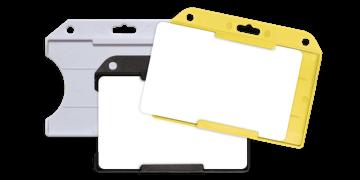 Horizontální pouzdro s možností zavešení žluté